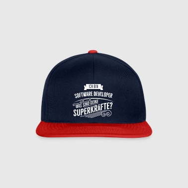 Software Developer - Snapback Cap