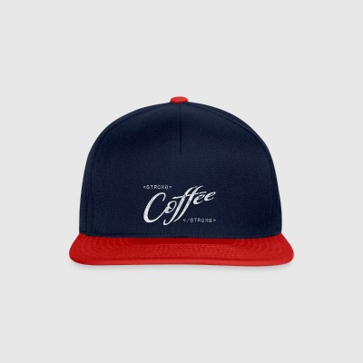 strong coffee Espresso black programmers - Snapback Cap