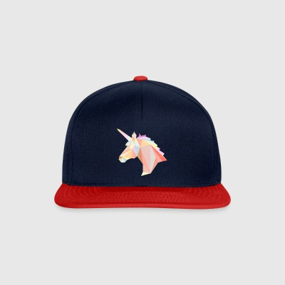 Low Poly Unicorn - Czapka typu snapback