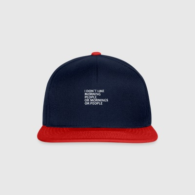 dont like matin - Casquette snapback