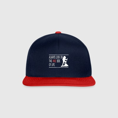 Always Look on the hike side of life - Snapback Cap