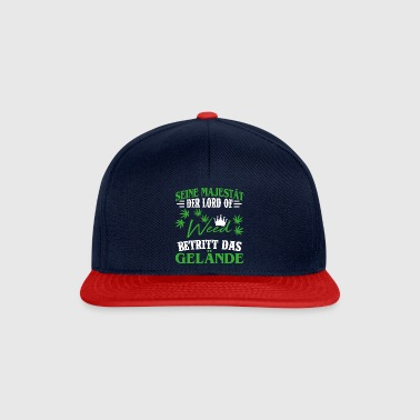 GRASS / CANNABIS / WEED / mauvaises herbes / MARIUHANA - Casquette snapback