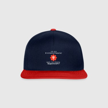 I am nurse what is your super power - Snapback Cap