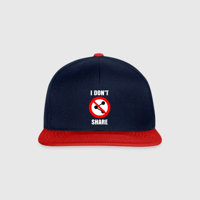 I do not share - I do not share as a sexy gift - Snapback Cap