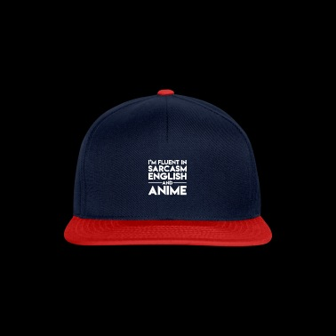 Sarcasm And Anime gift for Anime Lovers - Snapback Cap