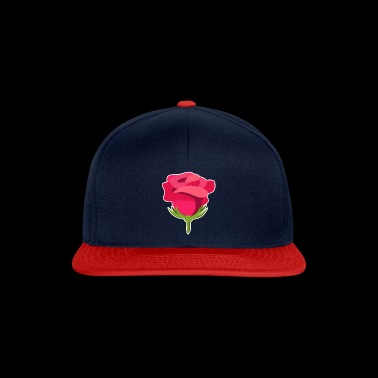 Idea del regalo di Rose Design Illustration Macro - Snapback Cap