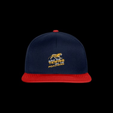 Save the Tiger Animal Protection Cat Meow - Snapback Cap