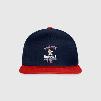 Unicorn Queens zijn geboren in april - Snapback cap