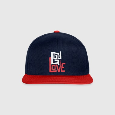 God is Love - Snapback Cap