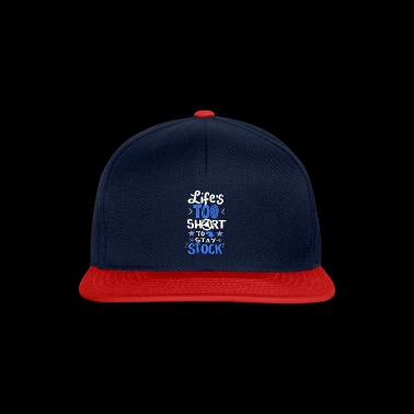 Car speed, life too short for standstill - Snapback Cap