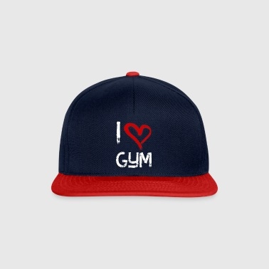 I love gym - Snapback Cap
