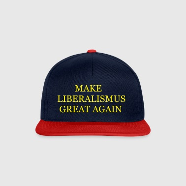 Make liberalism Great Again Yellow - Snapback Cap