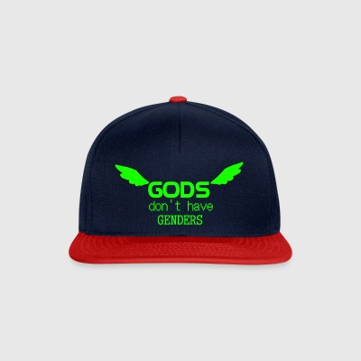 Gods do not have Genders (Green) - Snapback Cap