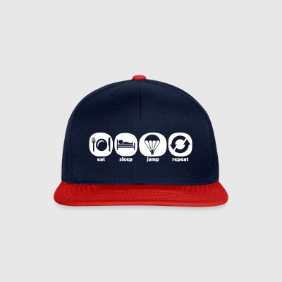 Eat Sleep Jump Repeat - Casquette snapback