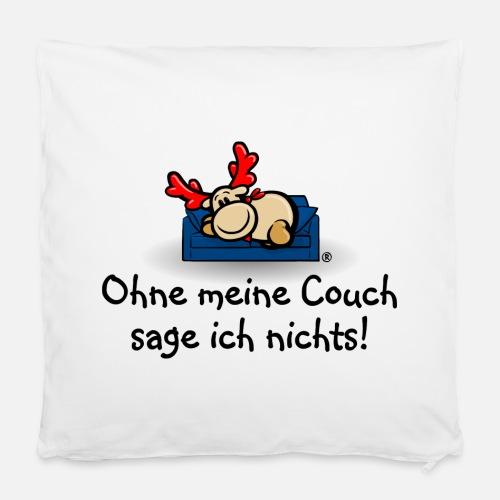 elch elmondo sagt nichts ohne seine couch von elmondo spreadshirt. Black Bedroom Furniture Sets. Home Design Ideas