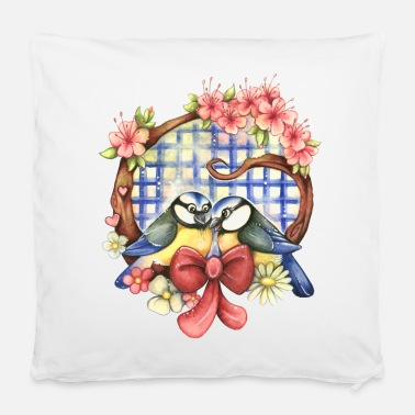 Loving Birds - Pillowcase 40 x 40 cm