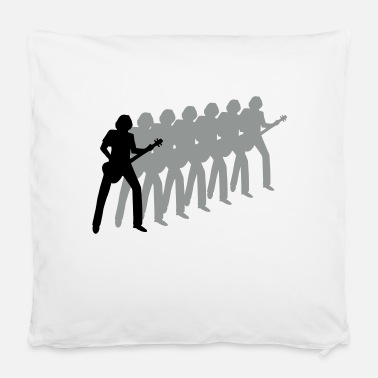 "Bassist bassist - Pillowcase 16"" x 16"" (40 x 40 cm)"