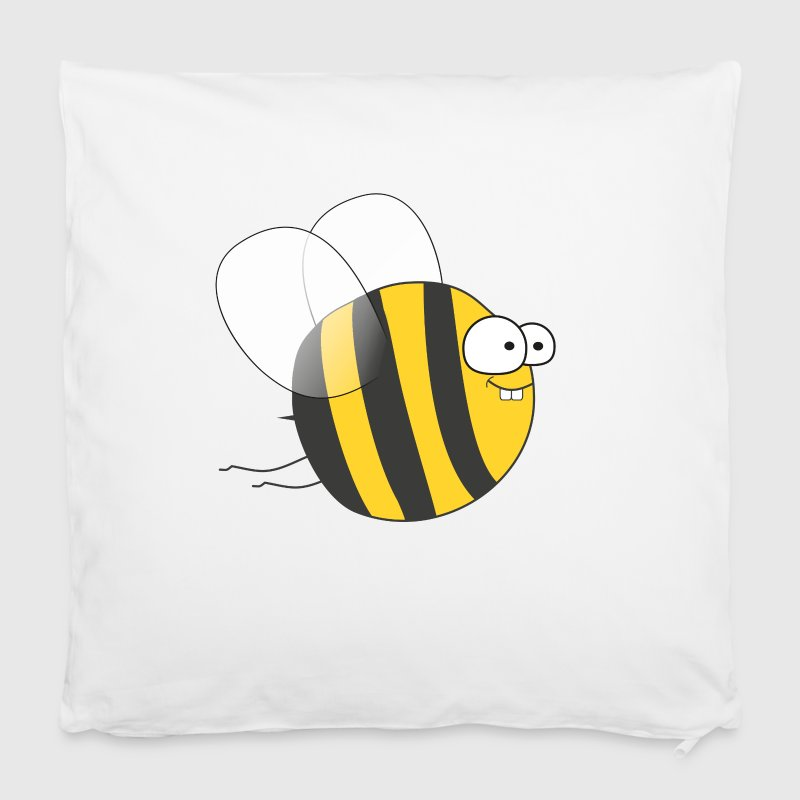 Cool & Crazy Funny Bee / Bumble Bee (Sweet & Cute) - Pillowcase 40 x 40 cm