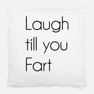 "Laugh Laugh - Pillowcase 16"" x 16"" (40 x 40 cm)"