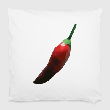 faceted chili - Pillowcase 40 x 40 cm