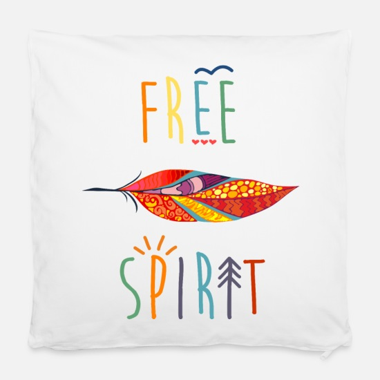 "Free Pillow Cases - AD Free Spirit - Pillowcase 16"" x 16"" (40 x 40 cm) white"