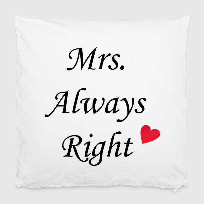 mrs always right von sendbote spreadshirt. Black Bedroom Furniture Sets. Home Design Ideas
