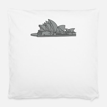"Sea &amp Opera House in Syndey 2 - Pillowcase 16"" x 16"" (40 x 40 cm)"