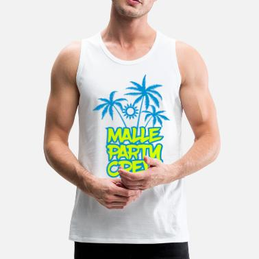 Party Malle Party Crew 2017 - Männer Premium Tank Top