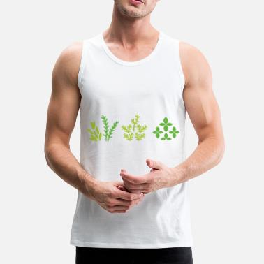Plant Grounds plants - Men's Premium Tank Top