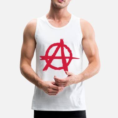 Anarchia Anarchia - Canotta premium da uomo
