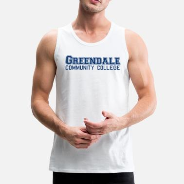 Community Greendale Community Collage - Premium singlet for menn