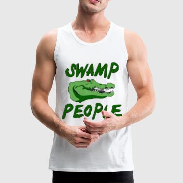 Swamp Alligators - Men's Premium Tank Top