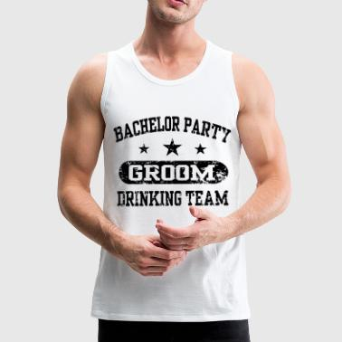 Bachelor party stag party party gift - Men's Premium Tank Top