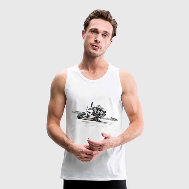 motorcycle - Men's Premium Tank Top
