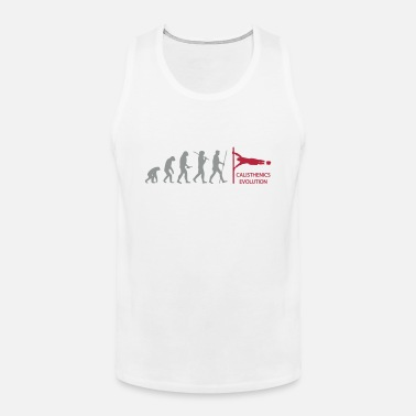 Evolution Calisthenics Human Flag Evolution  - Men's Premium Tank Top