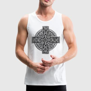 Celt Cross - Men's Premium Tank Top