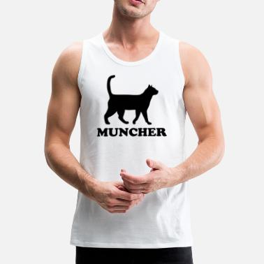 The Muncher (BLK) - Men's Premium Tank Top