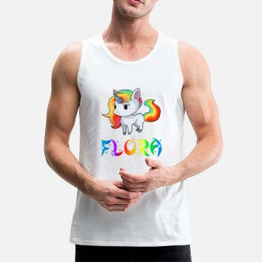 Flora Unicorn flora - Men's Premium Tank Top