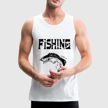 Fishing - angling / fishing gift idea - Men's Premium Tank Top