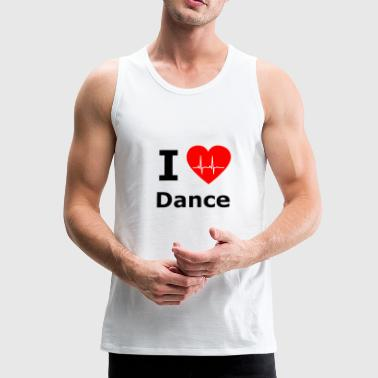 I love dancing - dancing - Men's Premium Tank Top