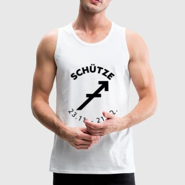 Zodiac Sagittarius - zodiac sign - Men's Premium Tank Top