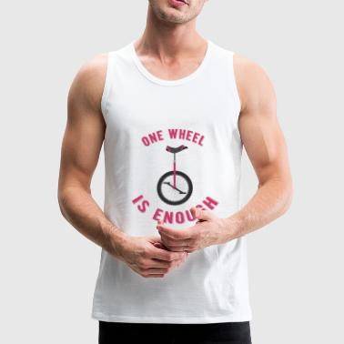 unicycle - Men's Premium Tank Top