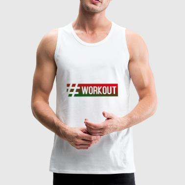 WORKOUT - Premium singlet for menn