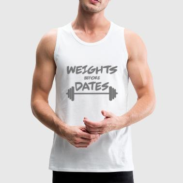 Weights - Men's Premium Tank Top