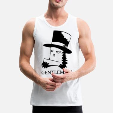 Gentleman Gentleman - Men's Premium Tank Top