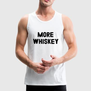 MEER WHISKEY - Mannen Premium tank top