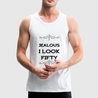 50th birthday - Men's Premium Tank Top