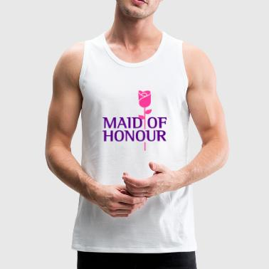 The maid of honor - Men's Premium Tank Top
