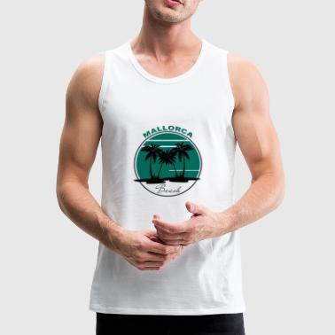 Majorca beach - Men's Premium Tank Top