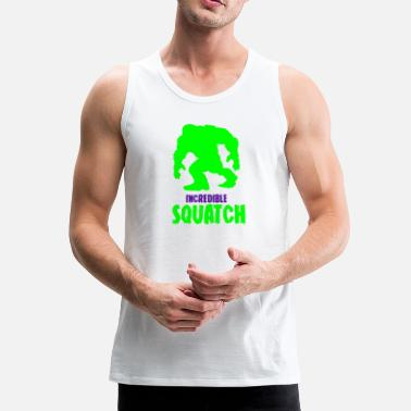 Antropoide Bigfoot - Tank top premium hombre